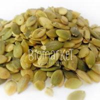 biomarket semente de abobora sem casca sem sal