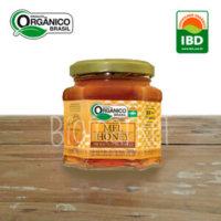 mel puro orgânico frasco