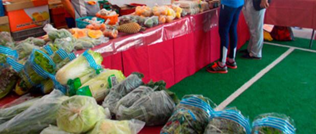 Adesivos De Parede Karate ~ Feira de produtos org u00e2nicos no SESC Osasco Biomarket Alimentos Saudáveis e Org u00e2nicos