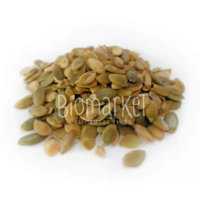 biomarket semente de abobora sem casca sem sal1 200x200 - Semente de Abobora TORRADA SEM SAL - 150g